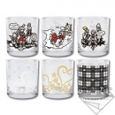 Kingdom Hearts III Ichiban Kuji Glass-Set (6 Stk.)