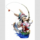 Made in Abyss PVC Statue 1/8 Nanachi Gankimasu Fishing 23 cm