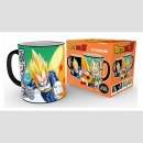 Dragon Ball Z Tasse mit Thermoeffekt Sayajins