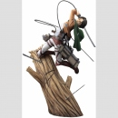 Attack on Titan ARTFX J 1/8 Statue -Levi Renewal Package...