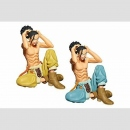 One Piece The Naked -2017 One Piece Body Calendar- vol. 4 -Usopp Blue Ver.-