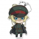 Tanya the Evil PuniColle! Keychain -Uniform Tanya-