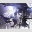 Canvas Board Monster Hunter World -Nergigante x Kushala...