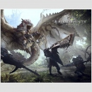 Canvas Board Monster Hunter World -Key Art-