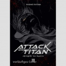 Attack on Titan - Hardcover Deluxe Edition Nr. 3
