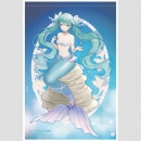 Wandrolle B2 Miku Hatsune Mermaid Princess -Dreaming...