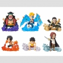 One Piece WCF (World Collectable Figure) -Burst- 6er Set...