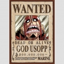 PUZZLE JAPAN IMPORT One Piece Wanted [God Usopp] (208 Teile)
