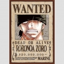 Puzzle One Piece Wanted -Roronoa Zoro-
