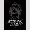 Attack on Titan Bd. 5 [Hardcover Deluxe Edition]