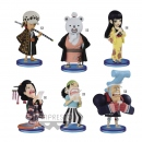 One Piece WCF ChiBi Minifiguren Sortiment Wano Kuni 6er Set