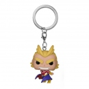Pocket POP! Keychain My Hero Academia -All Might- Silver Age