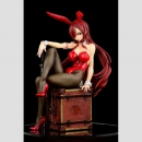 Fairy Tail 1/6 Statue -Erza Scarlet- Bunny Girl Style Red...