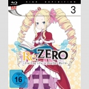 Re:Zero -Starting Life in Another World- Blu Ray vol. 3