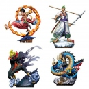 One Piece Log Box Sammelfiguren 8 cm Re: Birth Wanokuni...