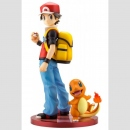 Pokemon ARTFX J 1/8 Statue Red mit Glumanda/Charmander