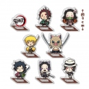 Demon Slayer Kimetsu no Yaiba Mini Acryl Figuren-Set