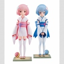 Re:ZERO -Starting Life in Another World- PVC Statuen 1/7 Rem & Ram Osanabi no Omoide 18 cm