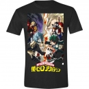 T-SHIRT Battle (My Hero Academia) Grösse L