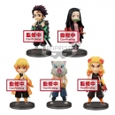 Demon Slayer: Kimetsu no Yaiba WCF ChiBi Minifiguren 5er...