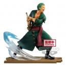 One Piece Log File Selection -Fight- PVC Statue Roronoa...