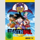 Dragon Ball Movies 1-4 DVD Box