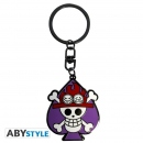 ABYSTYLE KEYCHAIN Skull Ace (One Piece)