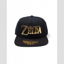 SNAPBACK CAP Black & Gold (The Legend of Zelda)