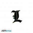 ABYSTYLE PIN [L] (Death Note)