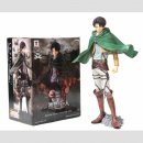 Master Stars Piece Attack on Titan Levi mit Action Gear