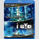 Animaze Anime Blu Ray Box 3: King of Thorn / Gyo - Der...