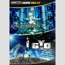Animaze Anime DVD Box 3: King of Thorn / Gyo - Der Tod...