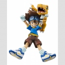 Digimon Adventure G.E.M. Statue -Tai Yagami & Agumon-