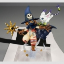 Digimon Adventure G.E.M. Statue Wizardmon & Gatomon