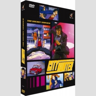 City Hunter DVD: The Secret Service