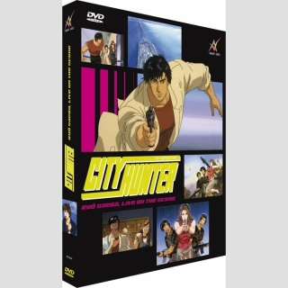 City Hunter DVD: Ryo Saeba, Live on the Scene