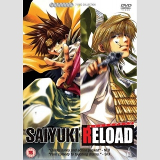 Saiyuki Reload DVD Complete Collection