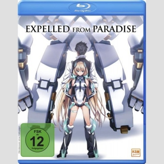 Expelled from Paradise Blu Ray