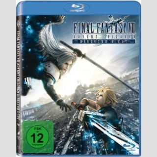Final Fantasy Advent Children Blu Ray