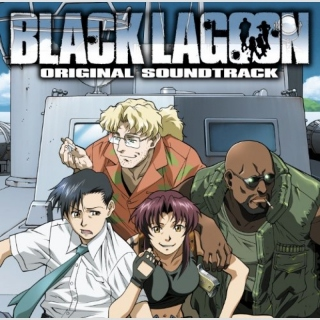 Original Japan Import Soundtrack CD  -Black Lagoon-