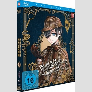 Black Butler Book of Murder Blu Ray