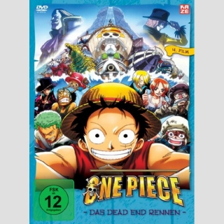 One Piece DVD Film 4 Das Dead End Rennen