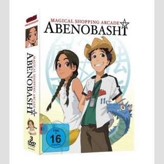 Magical Shopping Arcade Abenobashi DVD Gesamtausgabe Collectors Edition