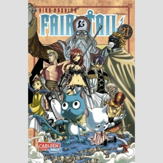 Fairy Tail Bd. 21