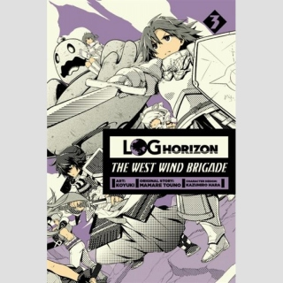 Log Horizon: The West Wind Brigade - Manga vol. 3