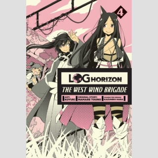 Log Horizon: The West Wind Brigade - Manga vol. 4