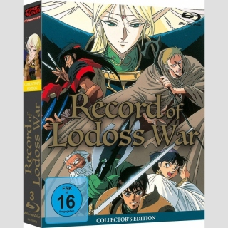 Record of Lodoss War Blu Ray Collectors Edition