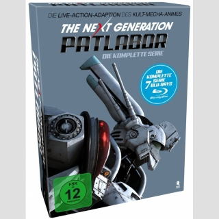 The Next Generation Patlabor Blu Ray - Die komplette Live Action Serie
