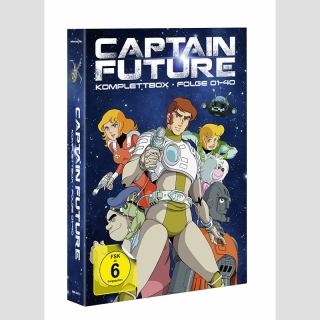 Captain Future DVD Komplettbox