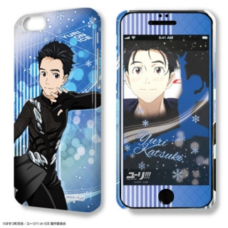 Yuri!!! on Ice: Deza-Jacket iPhone 6&6s Hülle & Protective Film Design 01 Yuri Katsuki